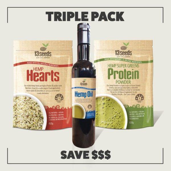 Hemp 'triple' Pack