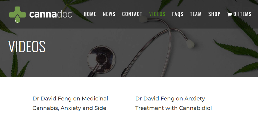Videos Featuring Dr David Feng